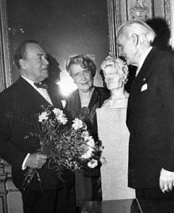 Anders de Wahl var med på släktföreningens årsmöte 22 januari 1953.